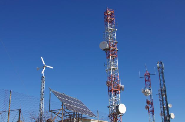 On-Grid Hybrid Renewable Telecom Solution